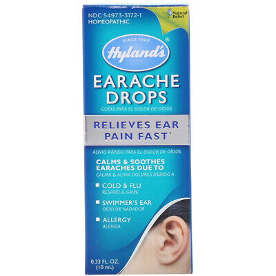 Hyland's, Earache Drops, 0.33 fl oz (10 ml) Homeopathic