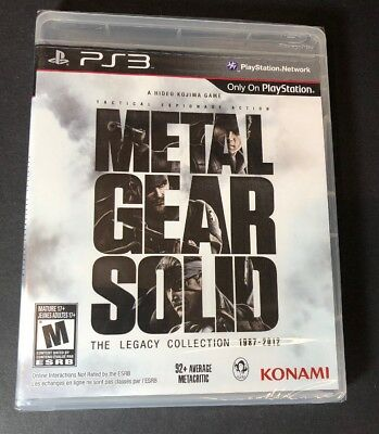 Metal Gear Solid The Legacy Collection 1987-2012 [ W/O Artbook ] (PS3) NEW