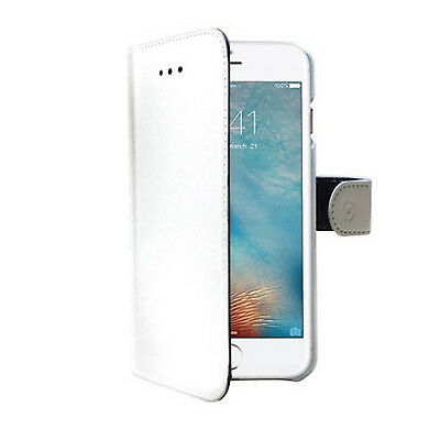 Celly  iPhone 7/8 Wallet Case Weiss WALLY800WH