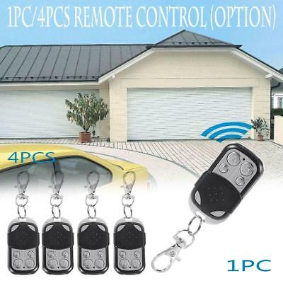 Universal 4 Button Gate Garage Door Opener Remote Control 433.92MHZ Rolling Code