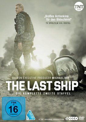 The Last Ship -Complete Season 2 Second TV Series - Eric Dane NEW UK R2 DVD PAL