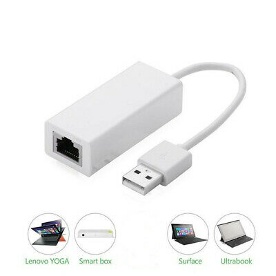 USB 2.0 to Ethernet Adapter Network Card10/100Mbps LAN RJ45 for PC Laptop Win