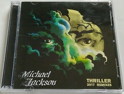Michael Jackson - Thriller. 2017 Remixes (2 CD, 24 tracks) 2017