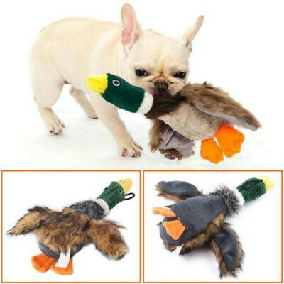 Cat Dog Toy Play Funny Pet Puppy Chew Squeaker Squeaky Sound Plush Duck Toys