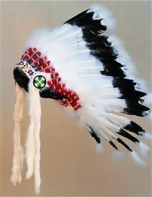 Warbonnet Headdress Head Dress Indian Regalia Pow Wow Tribal Regalia Native