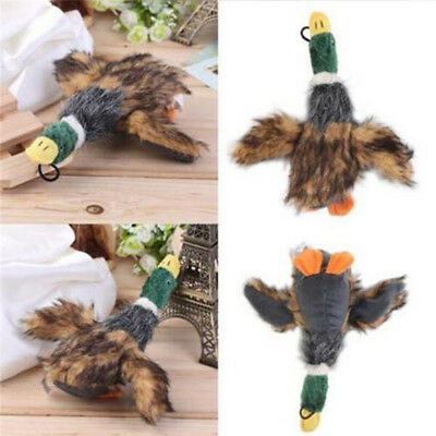 Funny Pet Puppy Chew Squeaker Squeaky Sound Plush Duck Chicken Toys Cat Dog Toy