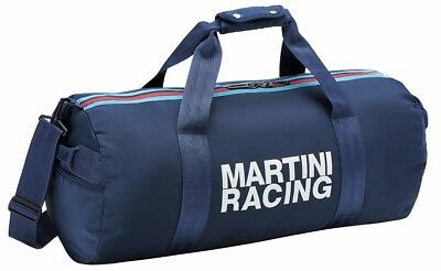 New Genuine Porsche Martini Racing Collection Leisure Duffel Bag WAP 035 925 0J