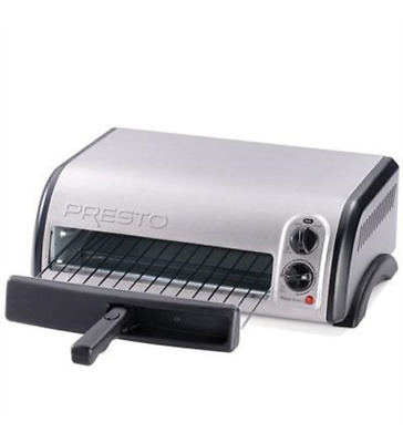 New Presto 03436 Stainless Pizza Oven
