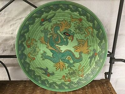 "Charlotte Rhead Crown Ducal ""manchu"" Charger"