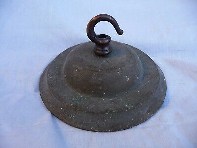 Antique Brass Large Lighting Hook Bracket Rose Chandelier Pendent Lantern 5.25""
