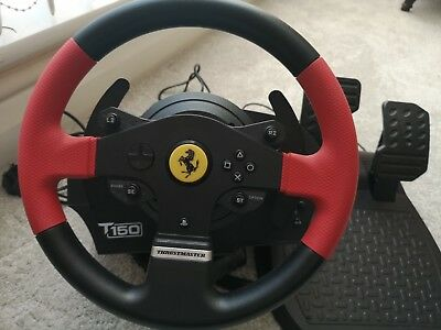 THRUSTMASTER T150 FERRARI Force Feedback Wheel and Pedals (PS4/PS3/PC)