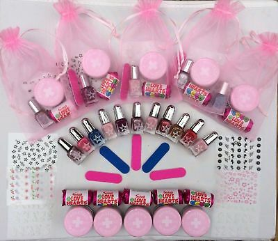 UK Girls Pamper Birthday Party Pre-filled Gift Bags Slumber Sleepover Nails Loot