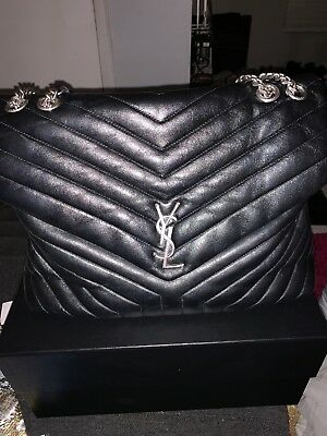 57fa7afdce9 SAINT LAURENT LARGE Loulou Matelassé Leather Shoulder Bag ...