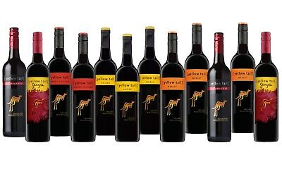 Red Wine Mixed Yellow Tail Ultimate Barbecue Pack 12x750ml Fast & Free Delivery