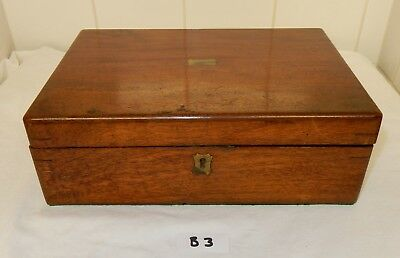Small Victorian Mahogany Writing Slope  (B3) C1257