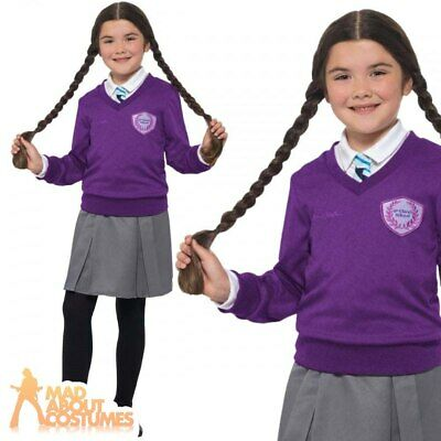 Girls St Clares Costume Childs Enid Blyton Fancy Dress Kids Book Week Day Outfit