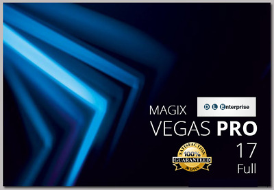 2019 Vegas Pro 17 - Full - Windows 64 bit - Professional Video Editing Software