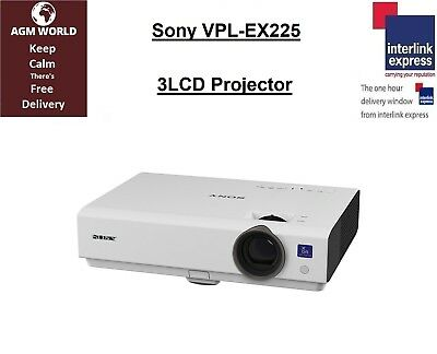 Sony VPL-EX225 3LCD Projector HDMI 1180 HRS Used