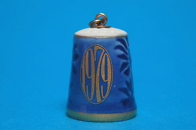 Vintage Bing & Grondahl Denmark 1979 Fixing on top for necklace Thimble B/165