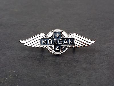 Morgan Plus 4 Pin Morgan Motor Company Classic Emblem Morgan +4 ca. 34 x 12 mm
