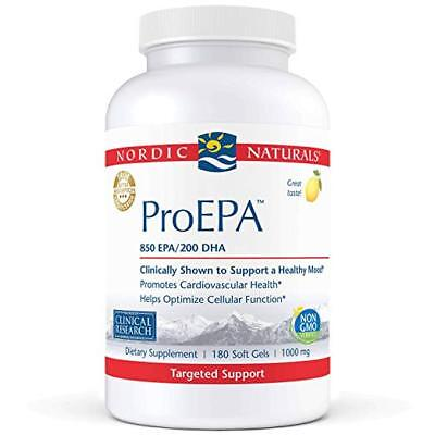 Nordic Naturals Pro - ProEPA, Cardiovascular Support, 850 EPA /200 DHA 180 SG