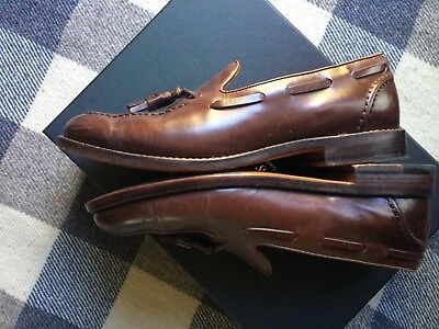 47192b912bd J Crew Ludlow Tassel Loafers Cigar Brown 9D (Fits 8.5D) Good Condition