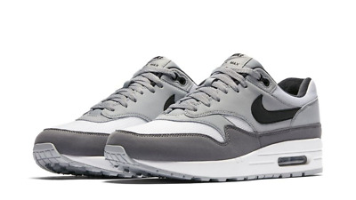 Air Max 1 White Black Wolf Grey