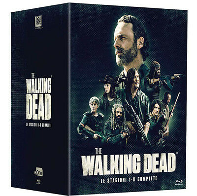 The Walking Dead - Serie Completa - Stagioni 1-8 (34 Blu-Ray) *Nuovo Sigillato*