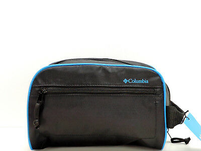 Columbia Men s Zip Travel Kit Black Dopp Shaving Toiletry Case Bag New! NWT 9a5faad5ad