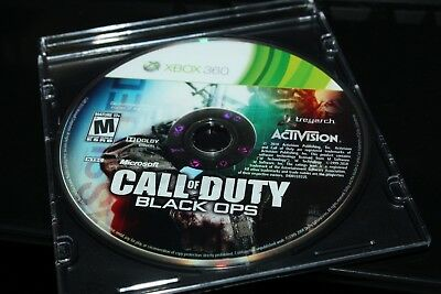 Microsoft Xbox 360   Call of Duty Black Ops  Game Disc Only