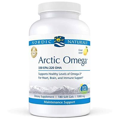 Nordic Naturals Pro Arctic Omega 330 mg EPA & 220 mg DHA Fish Oil 180 Softgels