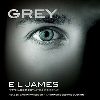 Grey Fifty Shades of Grey as Told by Christian By E. L. James (audio book)