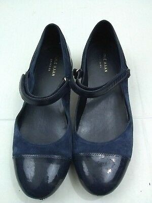 704d63f5347 Cole Haan Grand Os Blue Mary janes Womens Size 7or 8  see description