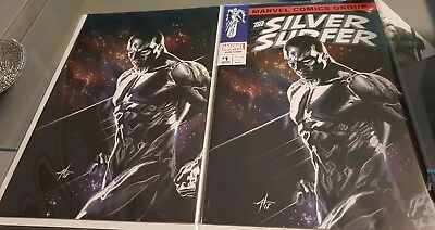 Silver Surfer #1 Dell'Otto Variants Limited editions virgin/trade set With COA