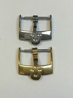 Silver/Gold Buckle/Clasp For Omega Watch Strap/Band 16mm 18mm 20mm