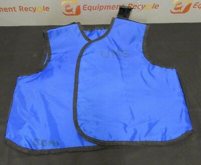 Wolf X-Ray Protection Protective Lead Apron Vest 0.5mm Blue