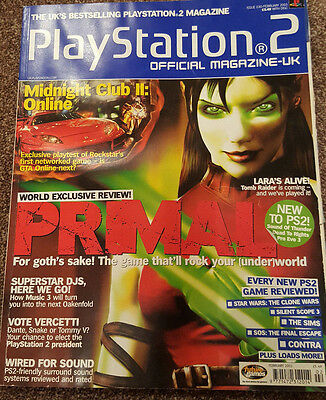 Official Uk Playstation 2 Magazine Issue No.30--Primal Cover