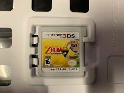 The Legend of Zelda: A Link Between Worlds (Nintendo 3DS, 2013) GAME ONLY!!!
