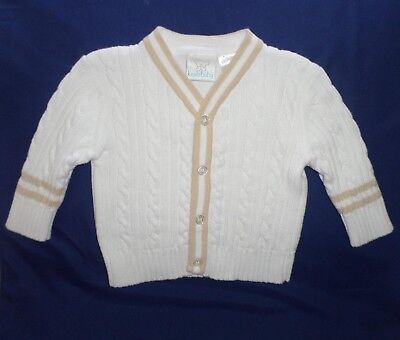 0d5957b41 LILAX BABY BOY Cable-Knit Basic Knit Cardigan Sweater 3-6 Months ...