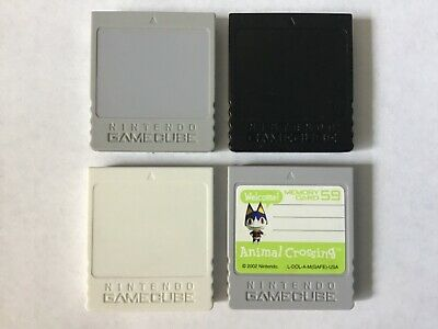 Official Nintendo Gamecube Memory Card Save Game 59 251 or 1019 Animal Crossing