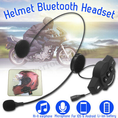 Moto casque CSR Interphone Intercom Bluetooth GPS casque sans fil