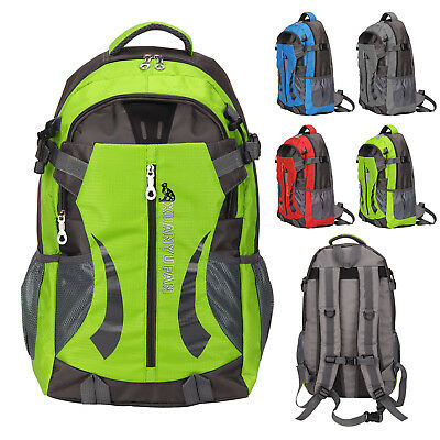 40L Waterproof Outdoor Sports Backpack Travel Hiking Camping Rucksack Bag UK
