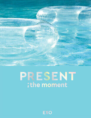 EXO PRESENT ; THE MOMENT PHOTO BOOK (204 page)+2p Clear Card+GIFT K-POP SEALED