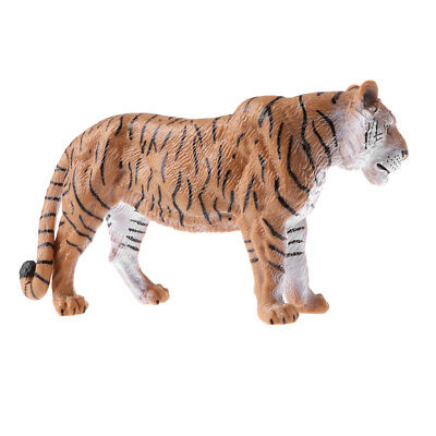 Simulation Tiger Animal Model Wild Life Role Play Figure Figurine Kids Toys