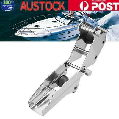 Bow Roller 316 Stainless Steel Hinged Bow Spirit Anchor Roller Quick Release AU