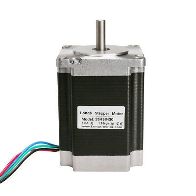 Schrittmotor Stepper Motor Nema 23 1.8°4wires 76mm 3A 270oz-in1.9Nm LONGS MOTOR