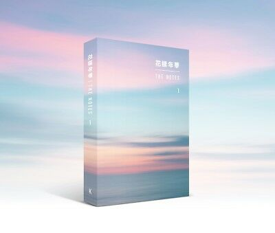 BTS 花樣年華 THE MOST BEAUTIFUL MOMENT IN LIFE NOTES 1 [KOR] BOOK+Special NOTE BOOK