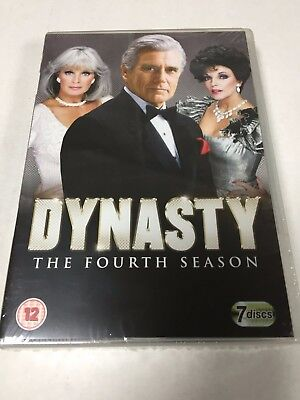 DYNASTY - Series 4 Complete 4th Fourth Season Boxset DVD - NEW SEALED