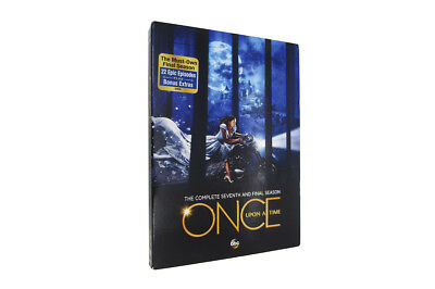 NEW Once Upon a Time:The Complete Seventh Season 7 (DVD 5-Disc set)Free Shipping