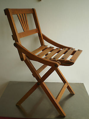 CHAIR FOLDABLE St THONET FURNITURE CHILD DOLL MINIATURE DECO 1900 CHILD SKIN